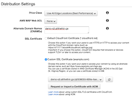 Ssl Certificates Title Static Ssl Site Hosting With S3 And Cloudfront