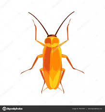 cockroach insect colorful cartoon character u2014 stock vector