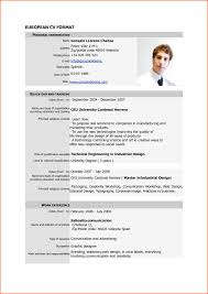 Standard Resume Template Standard Resume Format Pdf It Resume Cover Letter Sample