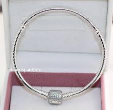 pandora bracelet sterling silver images 925 sterling silver snake chain charm signature clasp bracelet jpg