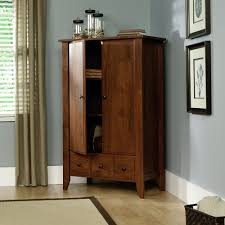 Used Computer Armoire by Amazon Com Sauder Shoal Creek Armoire Jamocha Wood Kitchen U0026 Dining