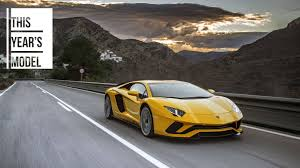 yellow and black lamborghini 2017 lamborghini aventador s review the perfect pebble beach