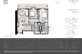 residence floor plan floor plans vida residences apartments dubai marina