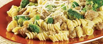 Pasta Sausage And Broccoli With Pasta