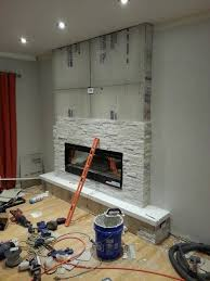 Inexpensive Electric Fireplace by Best 25 Fireplace Accent Walls Ideas On Pinterest Kitchen