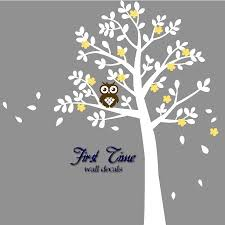 Flower Wall Decals For Nursery by Aliexpress Com Buy Popular Huge Tree Owl Flowers Wall Sticker