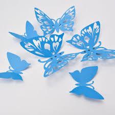 blue butterfly wall 3d butterfly from artpaperwonders on