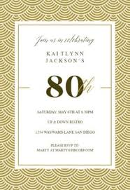 80th birthday invitations free 80th birthday invitation templates greetings island
