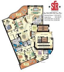 100 floor plans 3000 sq ft 3000 square foot house gorgeous floor plans 3000 sq ft sky villa condominiums south fork los cabos