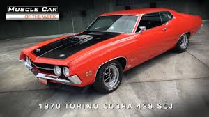 Ford Muscle Cars - muscle car of the week video 75 1970 ford torino cobra 429 scj