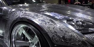 gtr nissan custom nissan gt r with engraved silver body by kuhl is needlessly