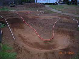 small backyard rc track layout pictures to pin on pinterest