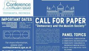 Palawa Ugm Universitas Gadjah Mada The 5th Annual Conference On The Muslim World