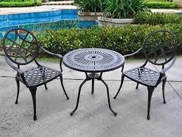 nice metal patio set outdoor design ideas black metal patio chairs