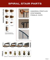 Stair Options by Spiral Stair Parts U0026 Options