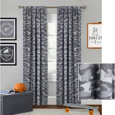 realtree xtra camo curtain panels set of 2 walmart com