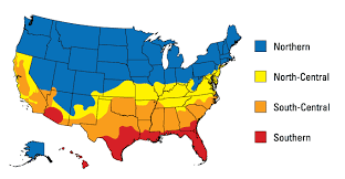 us climate map energy efficient window door criteria energy