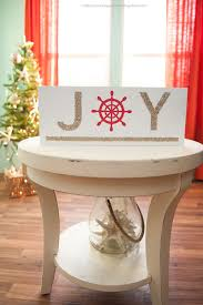 diy nautical christmas sign i heart nap time diy nautical christmas sign a glittery and beach y diy perfect for any home