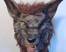 Cool Mask Werewolf Mask Etsy