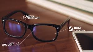 what is blue light filter blue reflect lenses for protection from digital eye strain youtube