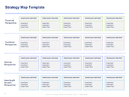strategy map template strategy map template balanced scorecard template by ex mckinsey