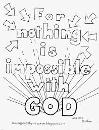 coloring pages for kids by mr adron nothing is impossible for