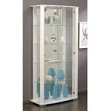 white glass storage cabinet awesome white cupboard display cabinet glass doors stock photo