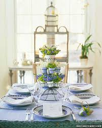 easter tabletop easter and centerpieces martha stewart