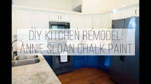 Diy Kitchen Cabinets Diy Kitchen Cabinet Remodel With Annie Sloan Chalk Paint