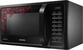 design mikrowelle samsung mikrowelle mc28h5015cb eg grill und heißluft 28 liter