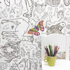 colouring colour giant paper tablecloth poster amazing
