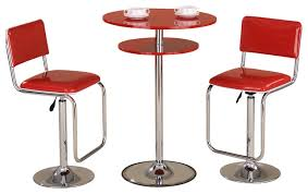 red pub table and chairs red pub table and two red bar stools modern indoor pub and retro pub