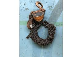 block and tackle l used pwb anchor chain hoist block and tackle 3 ton x 6 mtr drop pwb