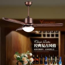 ceiling fan led light remote control nordic wood ceiling fan light simple village ceiling fan with led