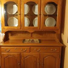 Oak Hutch And Buffet by Best Oak China Hutch And Buffet For Sale In Charlotte North