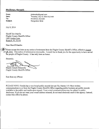 email resignation letter samples