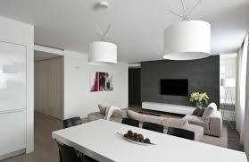 hängeleuchten wohnzimmer weiße hängeleuchten weißer esstisch graue aktentwand haus