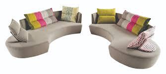 fabric sofa reportage by roche bobois design philippe bouix abr