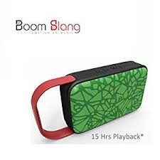 boomslang canvas 16w powerful rugged bluetooth speaker with 360