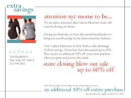 maternity stores nyc discontinued cadeau maternity goes belly up racked ny
