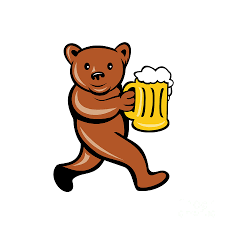 cartoon beer bottle dribbble cartoon beer bottle character buckets clip art library