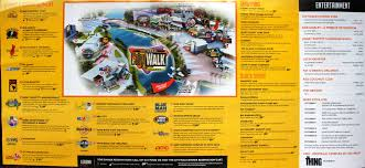 halloween horror nights map 2016 universal citywalk orlando orlando informer