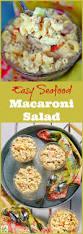 easy seafood macaroni salad this mama cooks on a diet