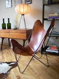 Cushioned Butterfly Chair by Leather Butterfly Chair U2014 Steveb Interior