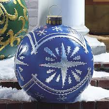 outdoor lighted ornaments the green