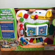 learn and groove table leapfrog learn groove bilingual musical table babies kids toys
