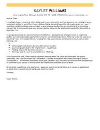 receptionist cover letter examples for admin livecareer