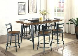 articles with bar height dining table set tag gorgeous height