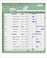 7 excel construction schedule templates free u0026 premium templates