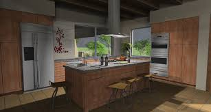 cad international irender nxt for sketchup kitchen study by austin canon